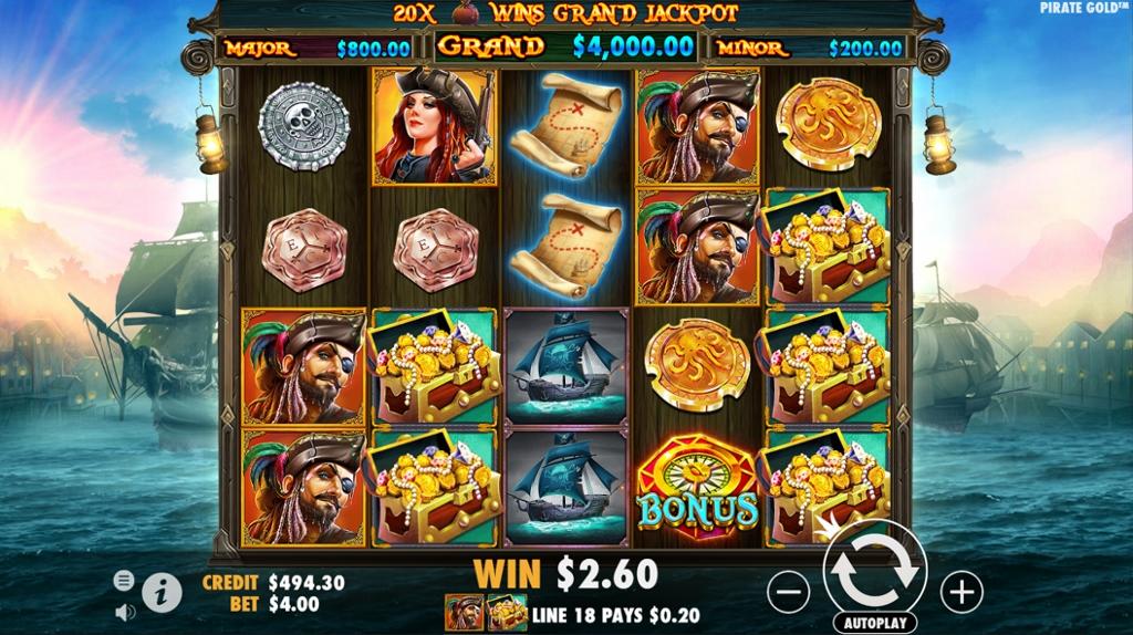 Pirate Gold Rtp 96 5 Pragmatic Play Slot Review Gmblrs Com