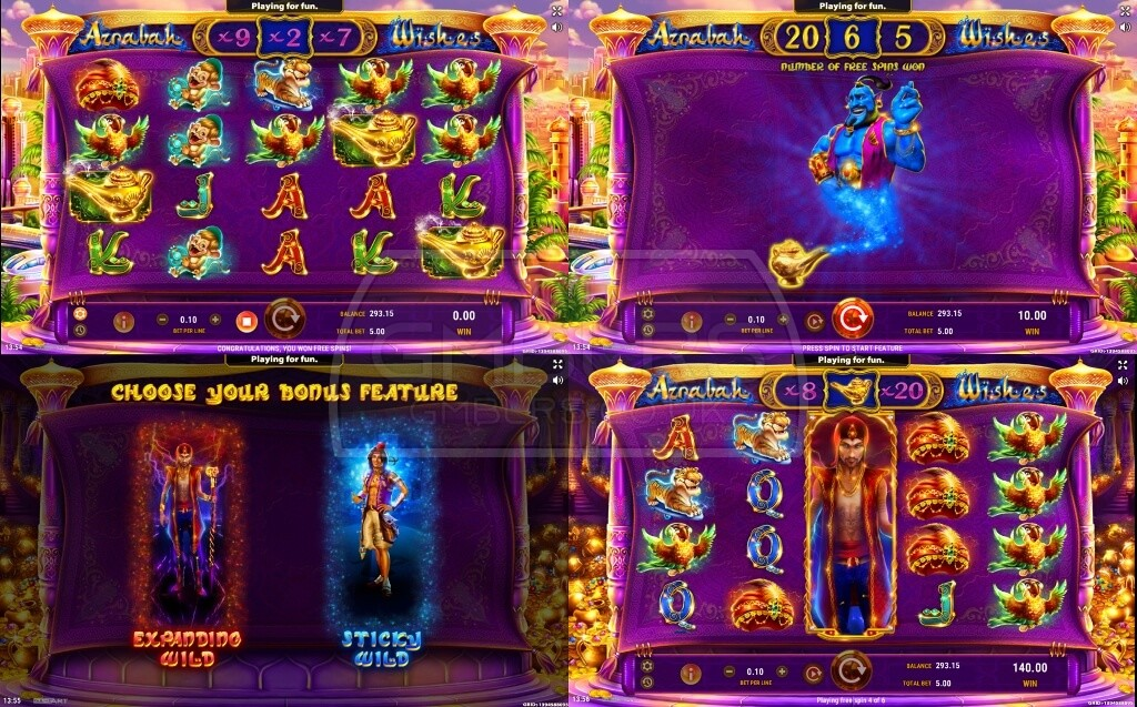 Apr 30, · GAMEART AZRABAH WISHES SLOT REVIEW Ride the magic carpet and capture the lamp genie with this slot released on April 30, , by developer GameArt.With off-the-charts levels of volatility and impressive payouts, Azrabah Wishes comes to .Bigadiç