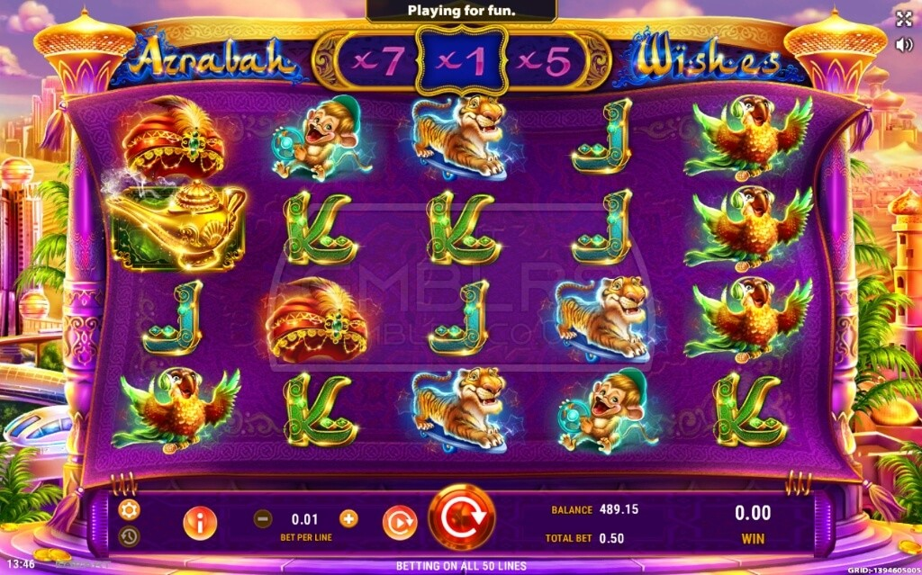 Apr 30, · Azrabah Wishes slot is GameArt powered video slot which features 5 reels and 50 paylines.It is a beautifully designed game that will take you to the Arabian inspired adventure filled with glitter.The slot is loosely inspired with the story of Aladdin and the Genie, so get ready to experience a high-tech golden desert megalopolis with a twist.Osmaneli
