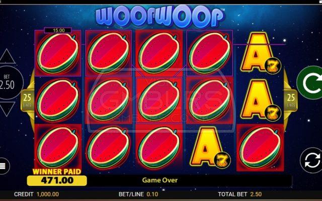 Woop Woop Mega Win