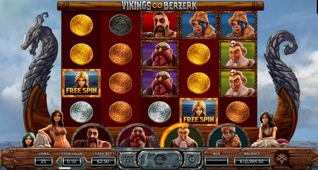 New Slot From Yggdrasil, Vikings Go Berzerk