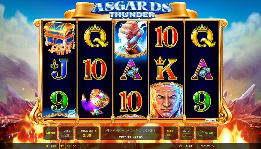Asgard'S Thunder Slot Machine