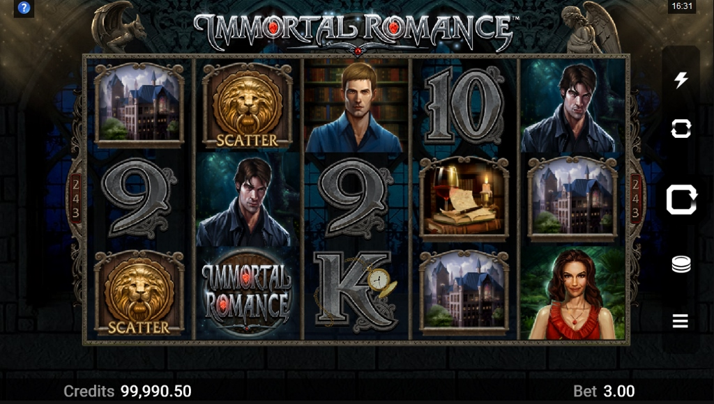 Microgaming - Immortal Romance Screenshot