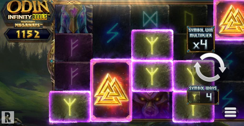 Odin Infinity Reel Base Game