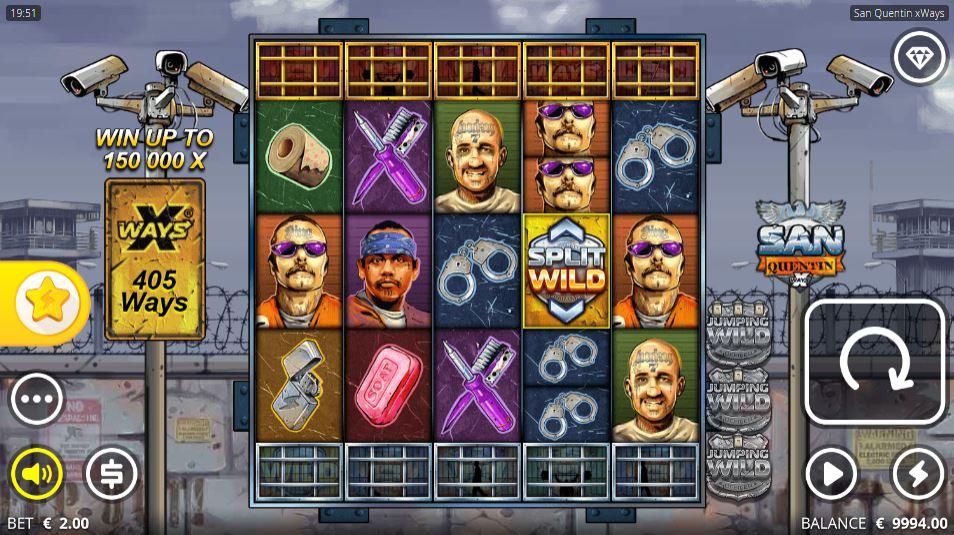San Quentin Split Wild